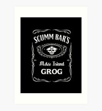 Scumm Bar's GROG Art Print