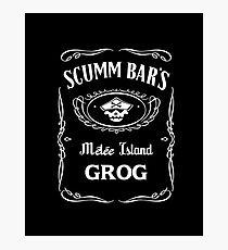 Scumm Bar's GROG Photographic Print