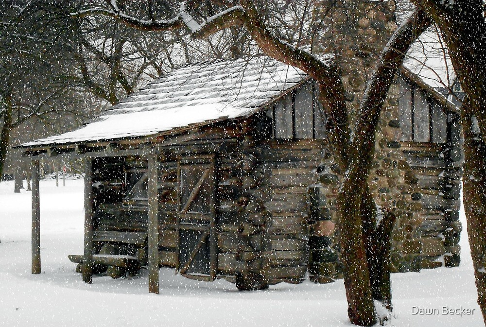 Winter Retreat © by Dawn Becker