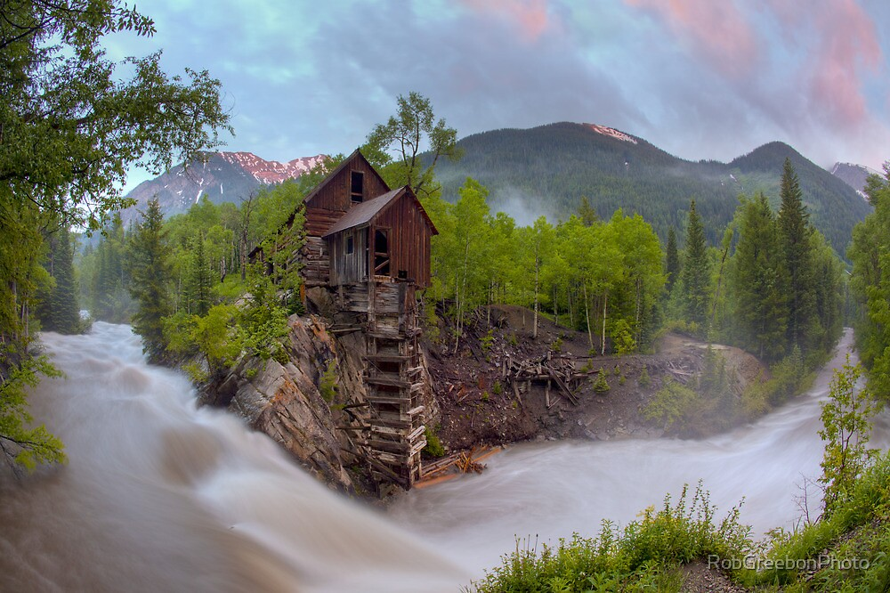 Crystal Mill, Crystal Colorado 1 by RobGreebonPhoto