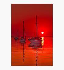 """""""Corio Morning Calm"""" Photographic Print"""