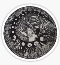 The Chrysalis King  Sticker