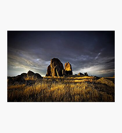 Twilight Hill Photographic Print
