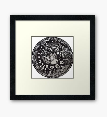 The Chrysalis King  Framed Print