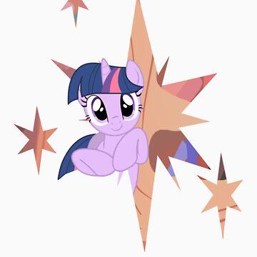Twilight Sparkle Stars by owlbert
