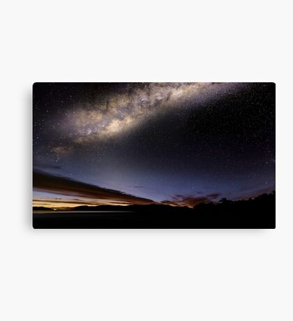 Lights over Hume Canvas Print
