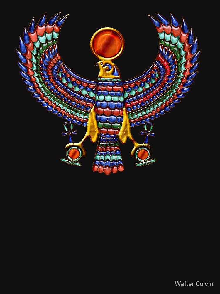 Altägyptischer Gott Horus (T-Shirt) von Skyviper