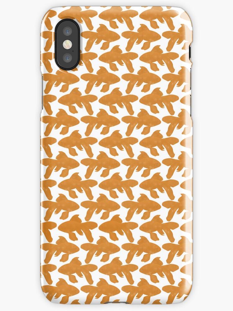 School of Goldfish Pattern by RedPine