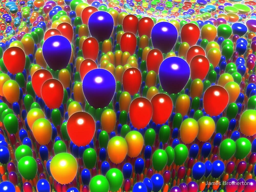 Balloon Extravaganza by James Brotherton