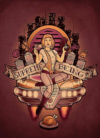 Supreme Being by HarryGordon