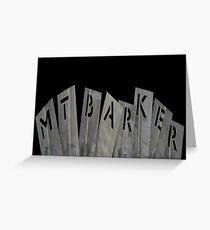 """Mt Barker""  Greeting Card"