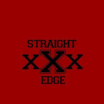 Straight Edge (Iphone Case) by blontz15