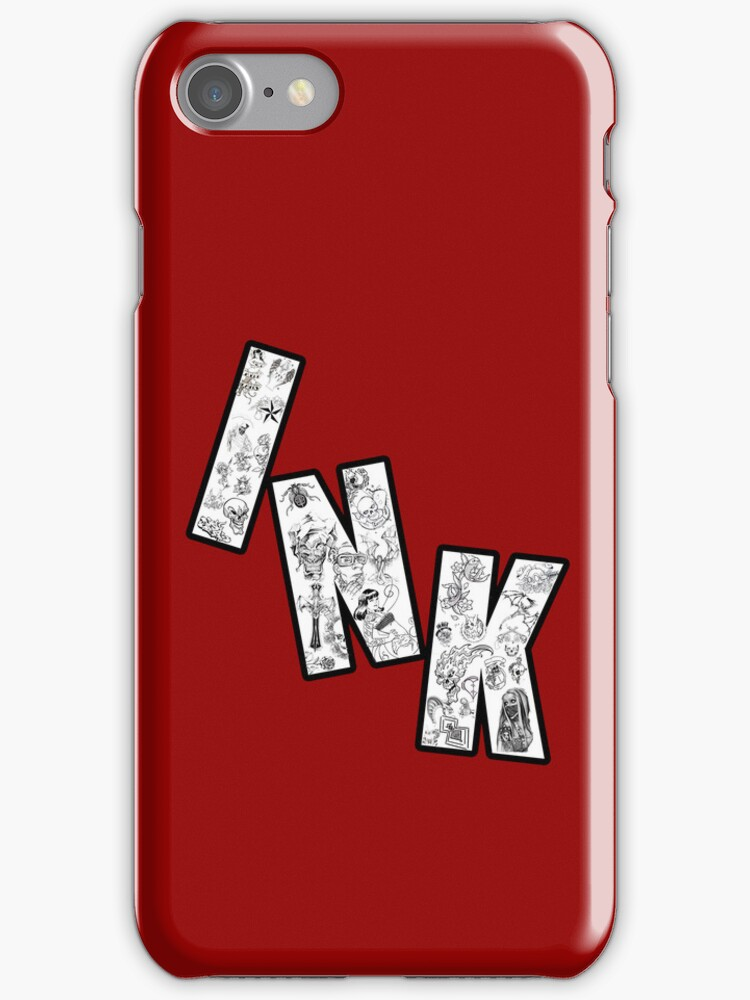 INK (Iphone Case) by blontz15