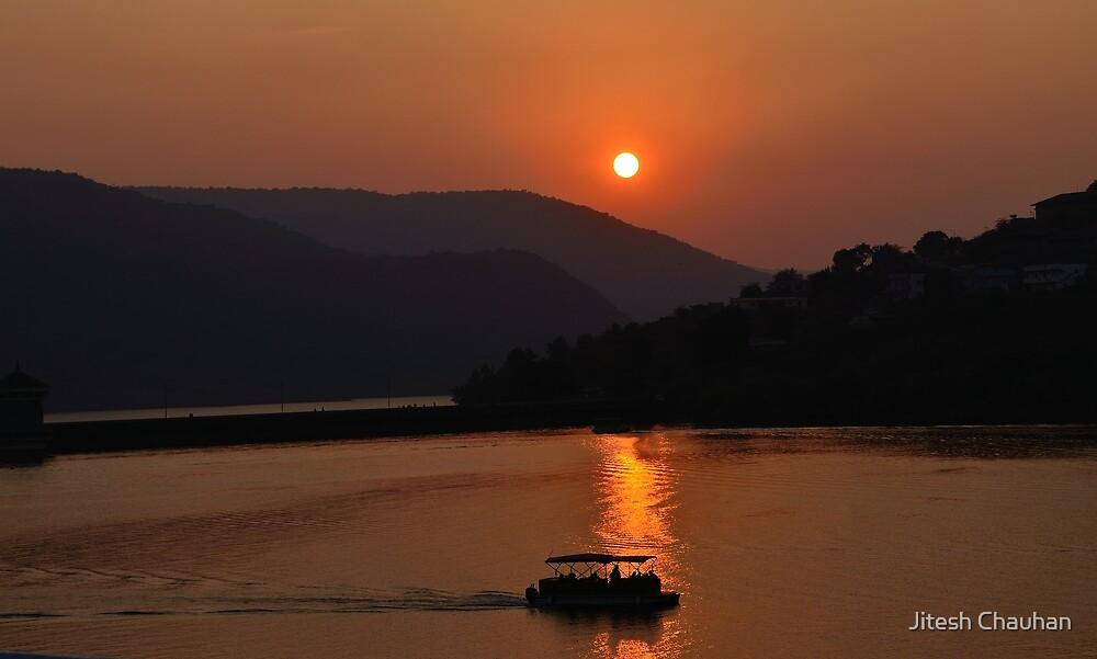 Sunset  by Jitesh Chauhan