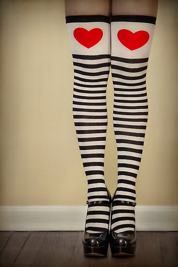 Hearts & Stripes by Evelina Kremsdorf