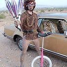 Juggler & Unicycle Clown by jollykangaroo
