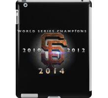 SF Giants World Series Champs X 3 MOS iPad Case/Skin