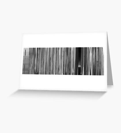 Moviebarcode: Paperman (2012) Greeting Card