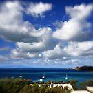Clouds Over Waiheke Island by Walter Parada