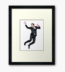 Jumpin' Jimmy Framed Print