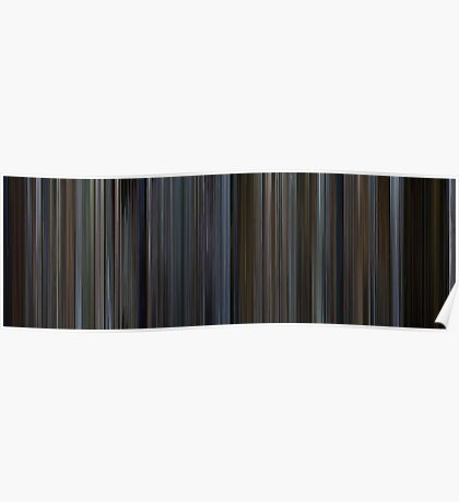 Moviebarcode: The Bourne Identity (2002) Poster