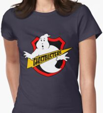 Ghost Busters Redux Women's Fitted T-Shirt
