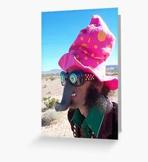 Elephant Man Clown Greeting Card