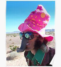 Elephant Man Clown Poster