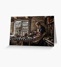 "‎""Story of a potter"" Greeting Card"