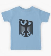 Germany coat of arms eagle beer  Kids Tee