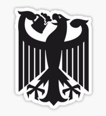 Germany coat of arms eagle beer  Sticker
