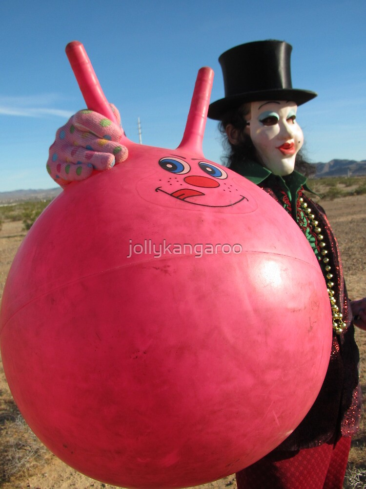 Space Hopper Man by jollykangaroo