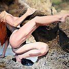 Woman on the Rock by ZiyaEris