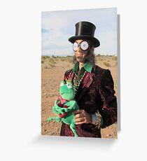 Top Hat Man Greeting Card