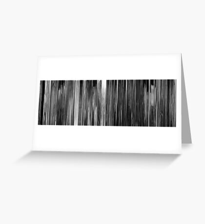 Moviebarcode: Smultronstället / Wild Strawberries (1957) Greeting Card