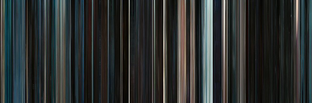 Moviebarcode: Serenity (2005) by moviebarcode
