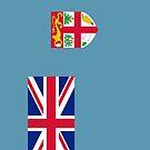Fiji Flag by pjwuebker
