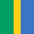 Gabon Flag by pjwuebker