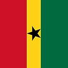 Ghana Flag by pjwuebker