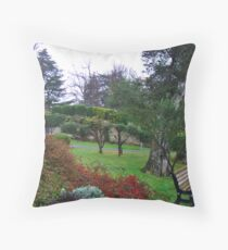 The Gardens of San Maurizio Throw Pillow
