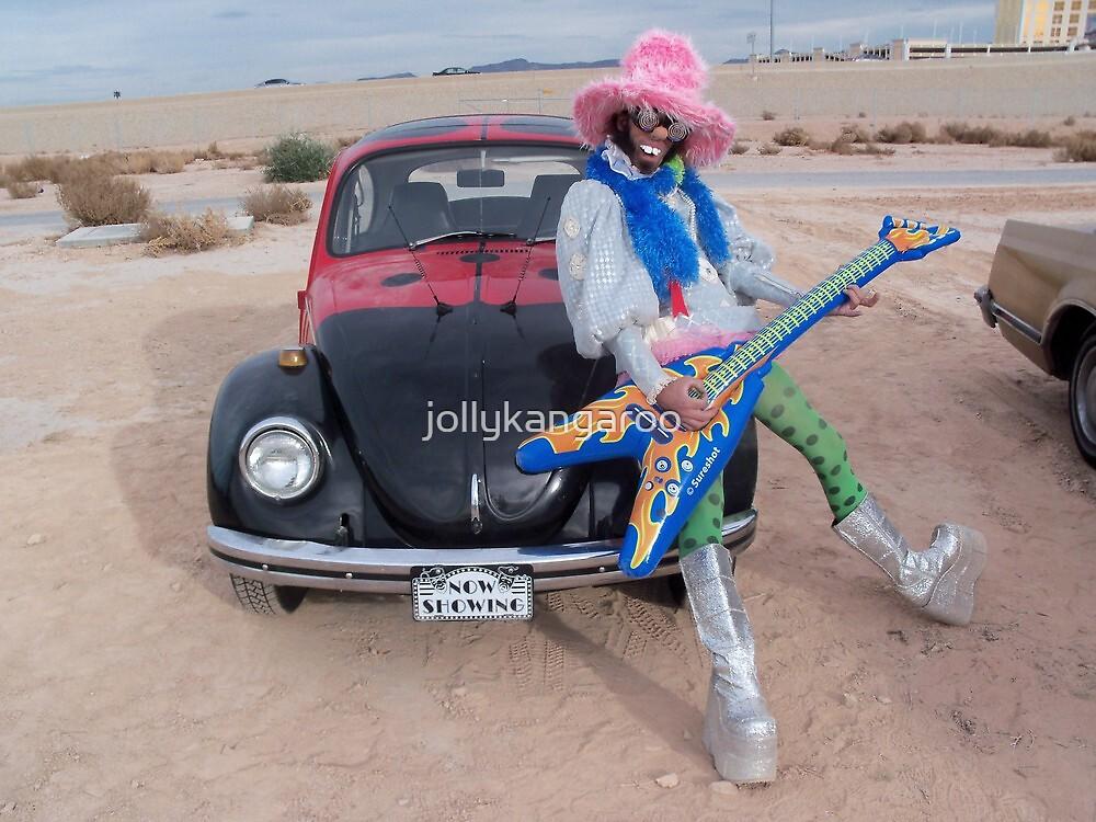 Fluffy Funkster by jollykangaroo