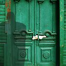 emerald door by Nikolay Semyonov