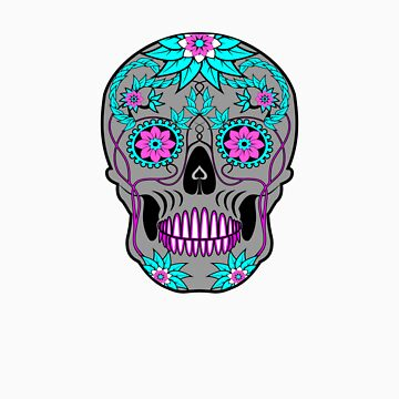Día de los Muertos (Day Of The Dead) Skull by HaroldRamp