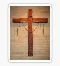 """""""The Instruments of Crucifixion"""" by Carole-Anne Fooks Sticker"""