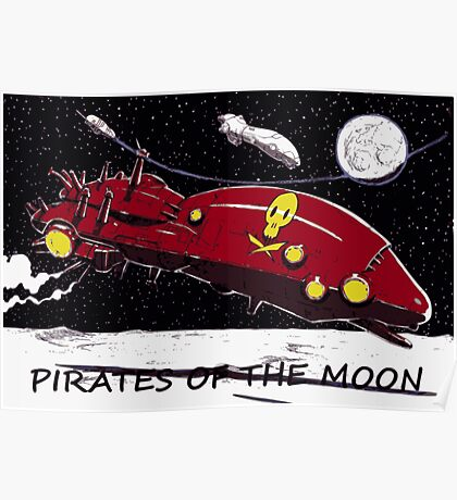 PIRATES OF THE JUPITER'S MOONS Poster