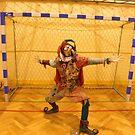 Jester Playing Soccer by jollykangaroo