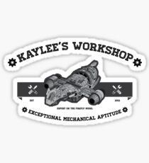 Kaylee's Workshop Sticker