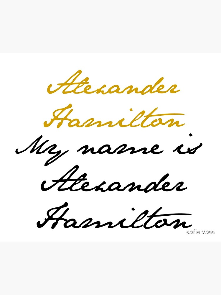 Alexander Hamilton de teamotp