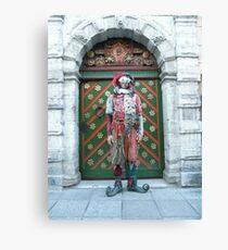 Jester Fool Canvas Print