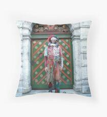 Jester Fool Throw Pillow